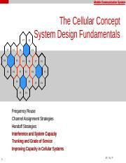cellular concept