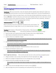 Lab 23 Wave Interference - Name_Timothy Pearson Wave ...