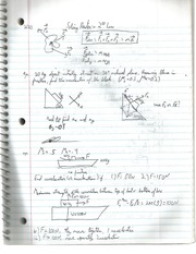 Newton's 2 and 3rd Law Notes