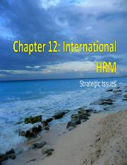 HR_StrategicIssues_Ch12