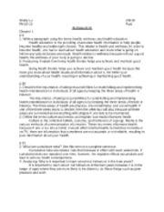 Health education homework help