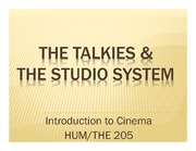 The Talkies PPT
