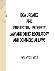 BOA Updates Intellectual Property Law.pptx