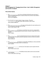 Chapter seven commercial banking  bank questions