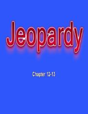 chapter 12-13 jeopardy.ppt