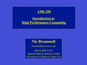 Lecture 0 - Introduction to High Performance Computing