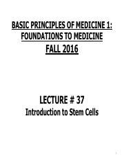 FTM Lecture 37 Introduction to Stem Cells.pdf