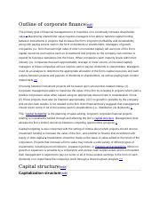 Outline of corporate finance.docx