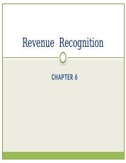 Ch. 6 revenue recognition - Student 2016 Part 1(3).pptx