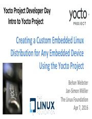 ypdd-2016 04-san_diego_1 pdf - Yocto Project Developer Day Intro to