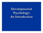 Developmental introduction revised