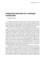 Creative Writing is a Unique Category.pdf