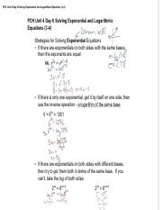 PCH Unit 4 Day 6 Solving Exponential and Logarithmic Equations.pdf