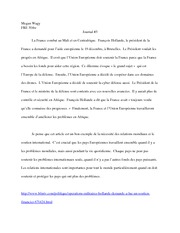 France and the European Union Essay Fre 304w
