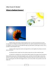 what is radiant energy.docx