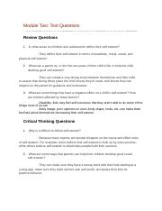 Module Two Text Questions.docx