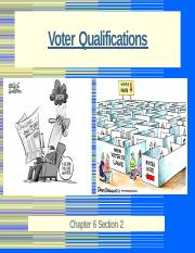 Voter Qualifications 2