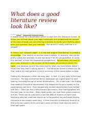 What does a good literature review look edited version.docx