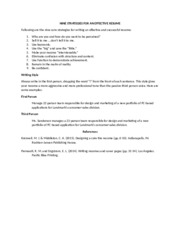 Chapter 3 Resume Strategies