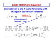 Equilibrium and Ideal Gases part 3
