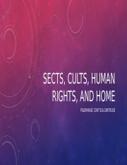 Week 11 sects, Cults and Human Rights.pptx
