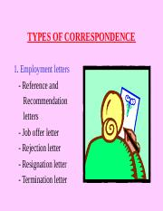 types-of-correspondence-1234279489595330-2.ppt