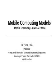 mobilecompmodels