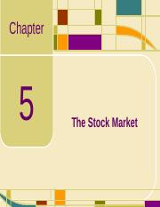 Chap05_The Stock Market.ppt