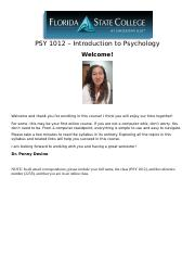 PSY 1012 A7 Online Syllabus - Spring 2018 - 2258.docx