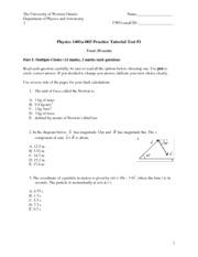 test physic 1401