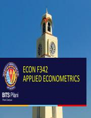 ECON F342 AE Time Series 2017