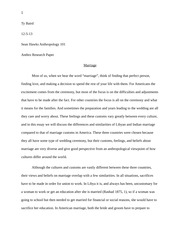 anthro research paper