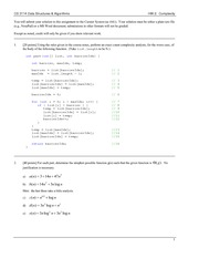 Homework B on Data Structures and Algorithms