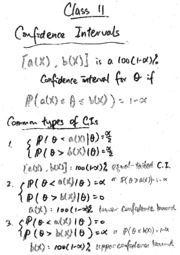 Tutorial 11 (notes and solution)