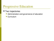 PROGRESSIVE EDUCATION 2-1