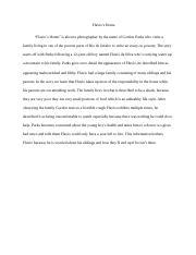 flavios home descriptive essay