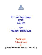 04 - ECE131 - S17 - Physics of a PN Junction.pdf