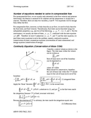 LEC 4-6 governing equations