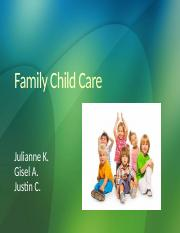 Family Child Care