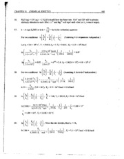 Chapter 15 and 16 Solutions