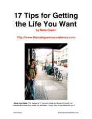 17-Tips-for-Getting-the-Life-You-Want