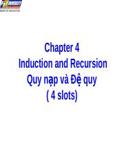 04-Induction and Recursion