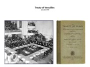 Treaty of Versailles and Fourteen Points