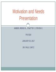 Motivation and Needs Presentation (1) (1).ppt