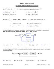 EEE3501 _Signals and Systems_STUDYING_QUESTIONS_inLT