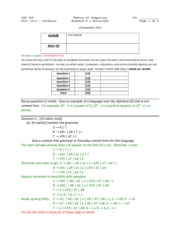 Midterm 2 Solution Fall 2013