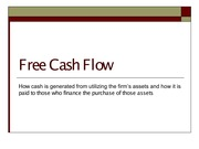 Free Cash Flow to post