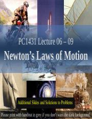 Wang Qinghai-L06-09E Extra slides for Newton's Laws of Motion.ppt