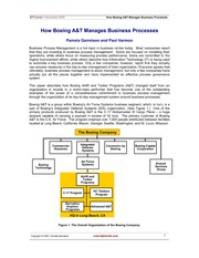 C3.1 - How Boeing A&T Manages Business Processes