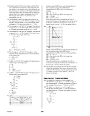 Pre-Calculus Homework Solutions 198